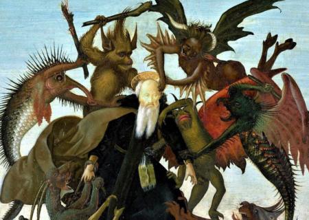 شیطان در قرآن، تفکر ایزدی و کتاب مقدس