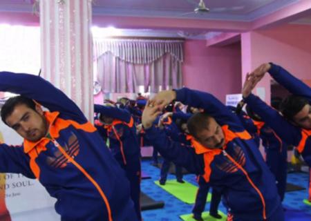 افتتاح کلاس تربیت مربی یوگا در افغانستان