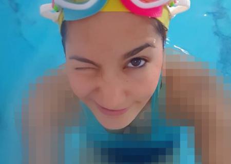 غزاله آدم پور؛ از شنا تا یوگا