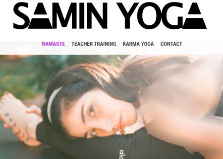 ثمین یوگا ؛ از آمریکا برای ایرانیان